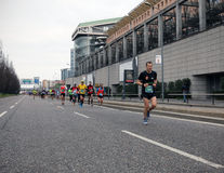 Milano City Marathon Royalty Free Stock Images