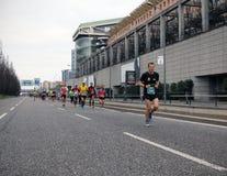 Milano City Marathon Royalty Free Stock Images