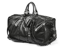 Man leather bag Royalty Free Stock Images