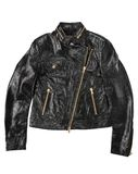 Man leather jacket Stock Photography