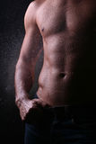 Man lichaam Royalty-vrije Stock Foto
