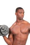 Man Lifting Weight Stock Photos