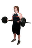 Man Lifting Weight Stock Images