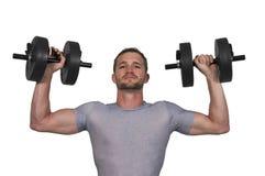 Man Lifting Weight Royalty Free Stock Photo