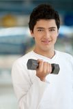 Man lifting weights Royalty Free Stock Photos