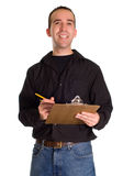 Man With List Royalty Free Stock Photos