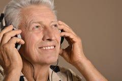 Man listen music Stock Photography