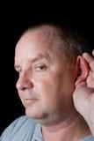 Man Listening Royalty Free Stock Photos