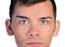Man looking camera Stock Image