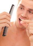Man Loosing His Hair Royalty Free Stock Photo