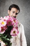 Man in love Stock Images
