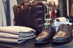 man luxury store Stock Photography