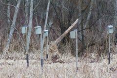 Man-made Birdhouse Stock Photography