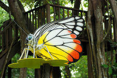Man made butterfly