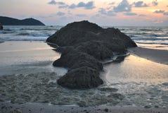Man made island Stock Photos