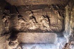 Free Man Made Sandstone Cave Klacelka Near Libechov, Czech Republic Royalty Free Stock Photos - 123412058