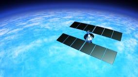 Man-made satellite Royalty Free Stock Photos