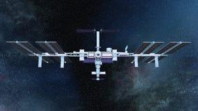 Man-made satellite Stock Photo