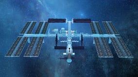 Man-made satellite Stock Image