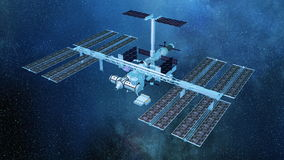 Man-made satellite Royalty Free Stock Images