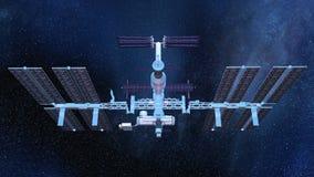 Man-made satellite Stock Photography