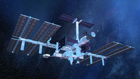 Man-made satellite Royalty Free Stock Photography