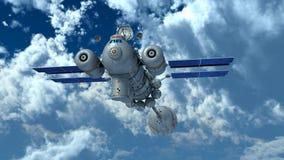 Man-made satellite Royalty Free Stock Image