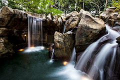 Man-made Waterfall royalty free stock images