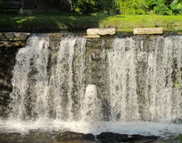 Man made waterfall Stock Image