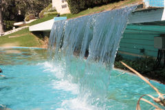 Man-made Waterfall. A small man-made waterfall Royalty Free Stock Photos