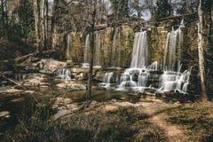 Man Made Waterfall royalty free stock photo