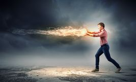 Man magician Royalty Free Stock Photo