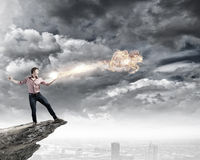 Man magician Royalty Free Stock Images