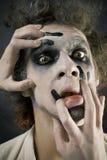 Man in make-up Royalty Free Stock Image