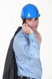 Man making call Stock Photos
