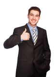 Man making a hand sign Royalty Free Stock Photos
