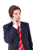 Man making a phone call Royalty Free Stock Image