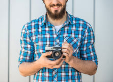 Man making picture Royalty Free Stock Photo