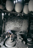 Pottery   workshop  in west china Stock Images