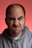Man making a weird face Stock Image