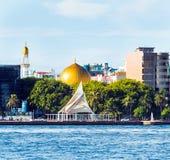 MAN MALDIVERNA - NOVEMBER 18, 2016 arkivfoton
