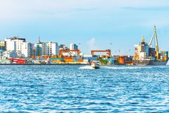 MAN MALDIVERNA - NOVEMBER 18, 2016 arkivbilder
