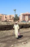 A man at Marrakech, Morocco Stock Image