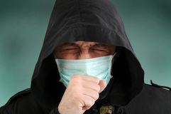 Man with the Mask Stock Photos