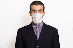 Man with mask Royalty Free Stock Photography