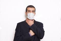 Man with mask Royalty Free Stock Images