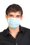 Man in mask Royalty Free Stock Photo