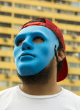 Man with the mask Royalty Free Stock Photos