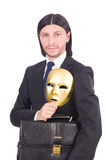 Man with mask Stock Photos