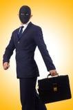 Man with mask  Stock Photos